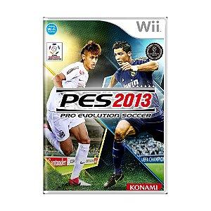 Jogo Pro Evolution Soccer 2013 (PES 13) - Wii