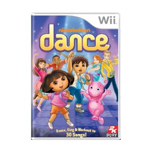 Jogo Nickelodeon Dance - Wii