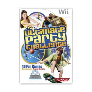 Jogo Ultimate Party Challenge - Wii