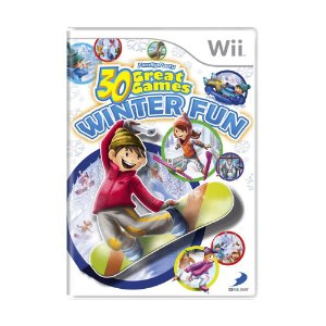 Jogo Family Party: 30 Great Games Winter Fun - Wii