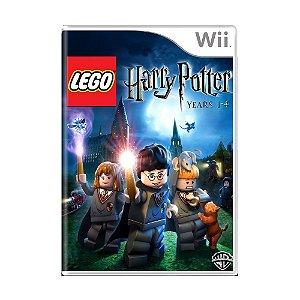 Jogo Lego Harry Potter - 1-4 - Wii