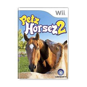 Jogo Petz Horsez 2 - Wii