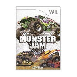 Jogo Monster Jam - Wii