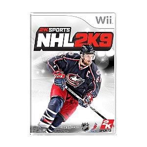 Jogo NHL 2K9 - Wii