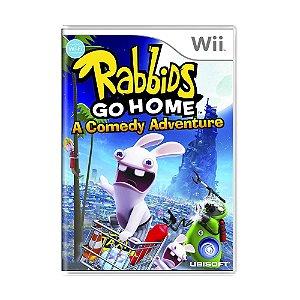 Jogo Rabbids: Go Home - Wii