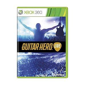 Jogo Guitar Hero Live - Xbox 360