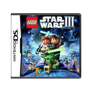 Jogo Lego Star Wars III: The Clone Wars - DS