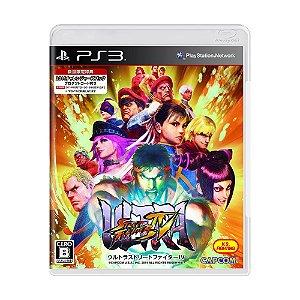 Jogo Ultra Street Fighter IV - PS3 [Japonês]