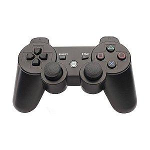 Controle Dazz Dualshock Bluetooth Sem Fio Preto - PS3