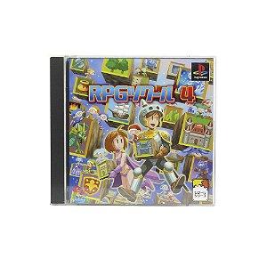 Jogo RPG Tsukuru 4 - PS1 [Japonês]