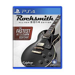 Jogo Rocksmith 2014 - PS4