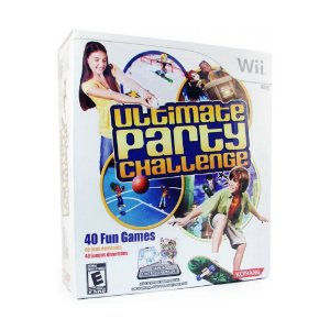 Jogo Ultimate Party Challenge (Bundle) - Wii
