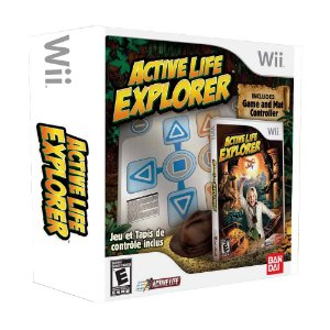 Jogo Active Life: Explorer (Bundle) - Wii