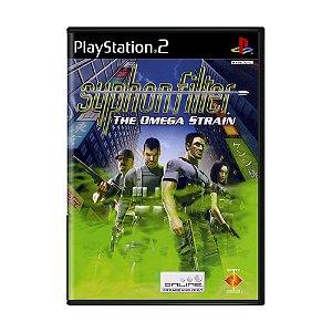 Jogo Syphon Filter: Omega Strain - PS2