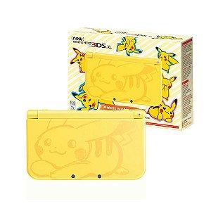 Console New Nintendo 3DS XL (Pikachu Edition) - Nintendo