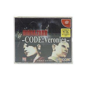 Jogo Biohazard - Code: Veronica - DreamCast