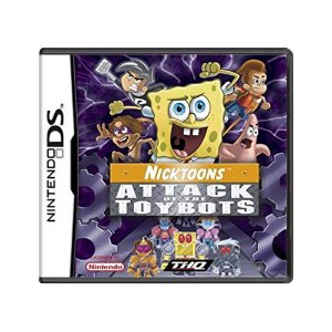 Jogo Nicktoons: Attack of the Toybots - DS