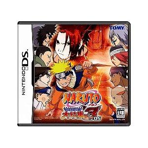 Jogo Naruto: Saikyou Ninja Daikesshuu 3 - DS [Japonês]