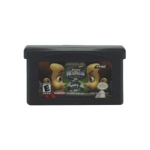 Jogo Jimmy Neutron vs. Jimmy Negatron - GBA - Game Boy Advance