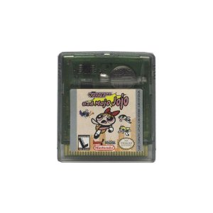 Jogo Powerpuff Girls: The Bad Mojo Jojo - GBC - Game Boy Color