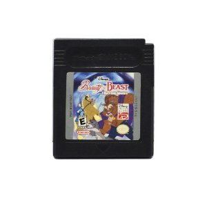 Jogo Beauty and the Beast: A Board Game Adventure - GBC - Game Boy Color