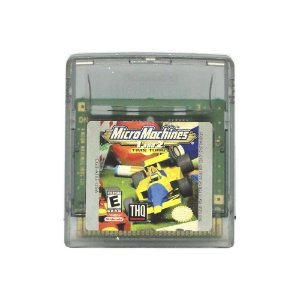 Jogo Micro Machines 1 and 2: Twin Turbo - GBC - Game Boy Color