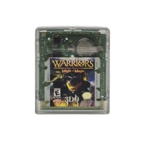 Jogo Warriors of Might and Magic - GBC - Game Boy Color