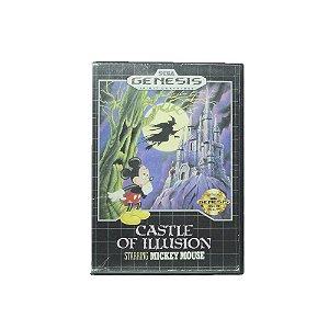 Jogo Castle of Ilusion Staring Mickey Mouse - Mega Drive