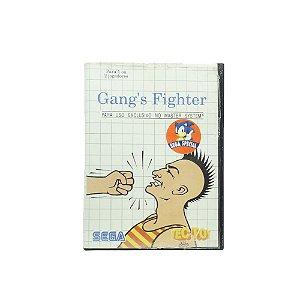 Jogo Gang's Fighter - Master System