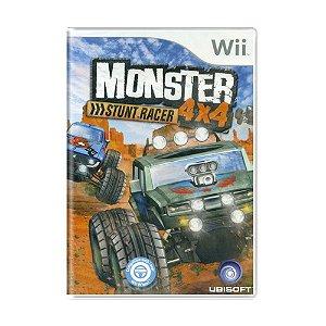 Jogo Monster Stunt Racer 4x4 - Wii