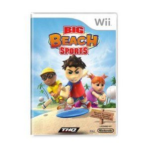 Jogo Big Beach Sports - Wii