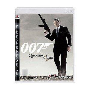 Jogo 007: Quantum of Solace - PS3
