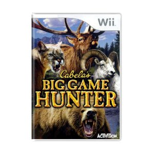 Jogo Cabela's Big Game Hunter - Wii