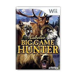 Jogo Cabela's Big Game Hunter - Wii