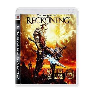 Jogo Kingdoms of Amalur: Reckoning - PS3