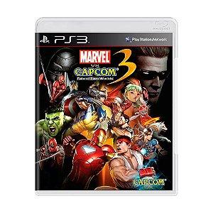Jogo Marvel VS Capcom: Fate of Two Worlds 3 - PS3