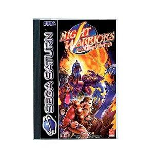 Jogo Night Warriors: Darkstalkers' Revenge - Sega Saturn