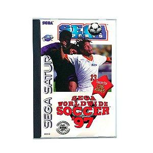 Jogo Sega Worldwide Soccer '97 - Sega Saturn