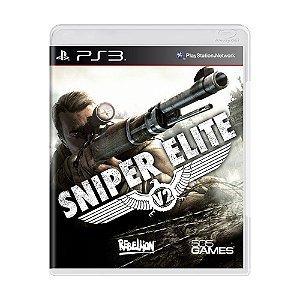 Jogo Sniper Elite - PS3