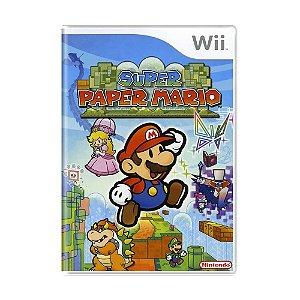 Jogo Super Paper Mario - Wii
