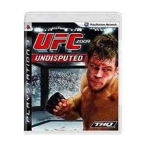Jogo UFC 2009: Undisputed - PS3