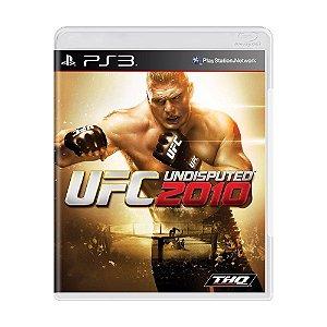Jogo UFC 2010: Undisputed - PS3