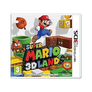 Jogo Super Mario 3D Land - 3DS (Europeu)