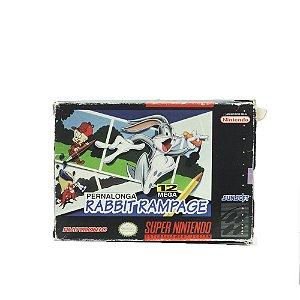 Jogo Bugs Bunny Rabbit Rampage - SNES