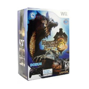 Jogo Monster Hunter Tri (Bundle Edition) - Wii