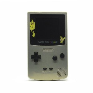 Console Game Boy Color Cinza (Pikachu) - Nintendo