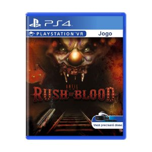 Jogo Until Dawn: Rush of Blood - PS4