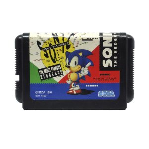 Jogo Sonic the Hedgehog - Mega Drive