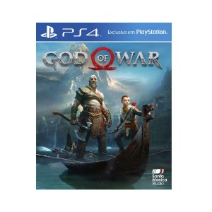 Jogo God of War - PS4 (Capa dura)