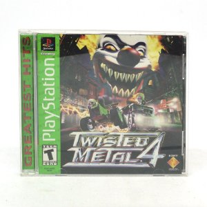 Jogo Twisted Metal 4 - PS1